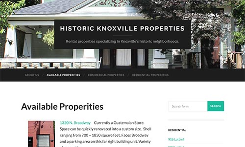 Knoxville Historic Properties